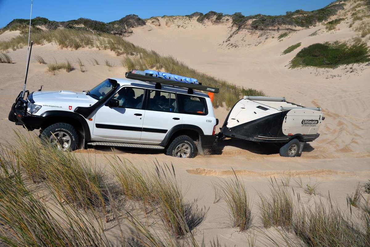 Nissan Patrol Gu And Ultimate Off Road Trailer