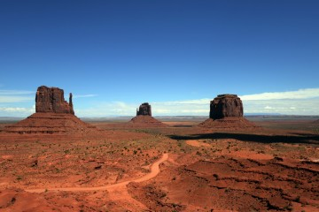 2017 10 USA 001 Monument Valley im Navajo Nation Reservation