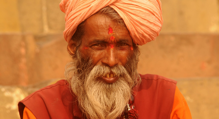Some Hindus dedicate themselves completely to the religous life, asceticism and all-embracing meditation