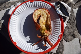 Strandloper Restaurant Lobster