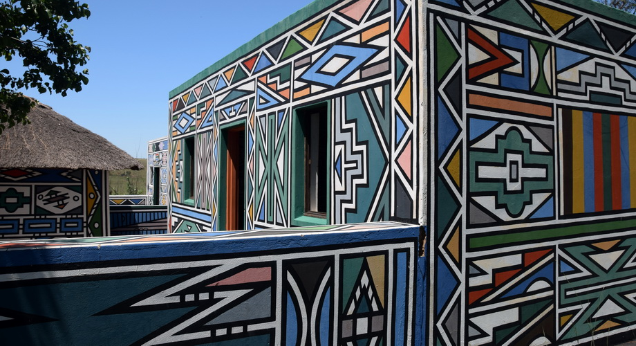 Swasiland Ndebele Cultural Village