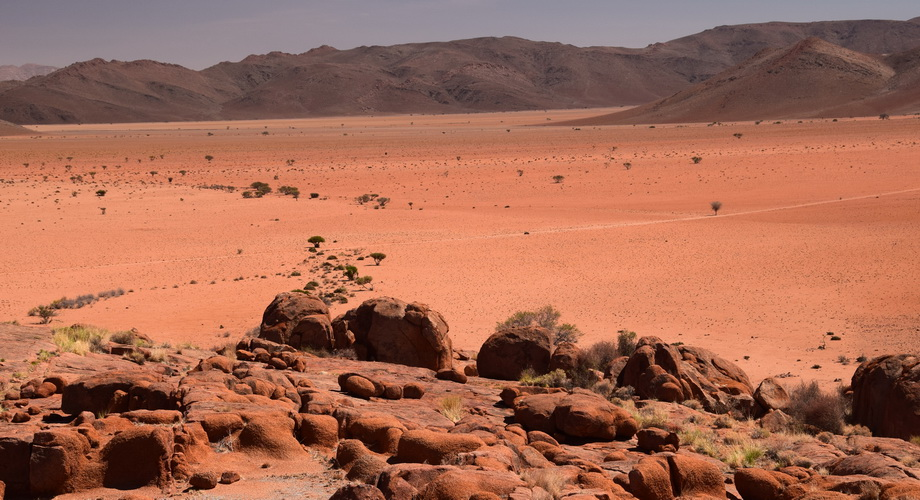 fascinating landscape in Namibia