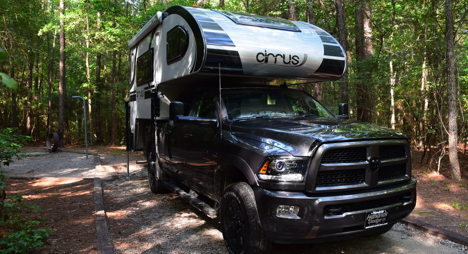 RAM 3500 and Cirrus Truck Camper