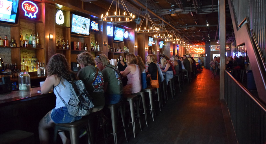 Longest Bar in Nashville at Nudie Honky Tonk