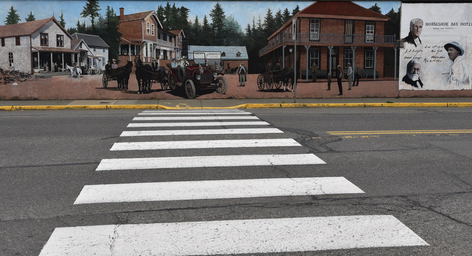 Chemainus, the town with murals