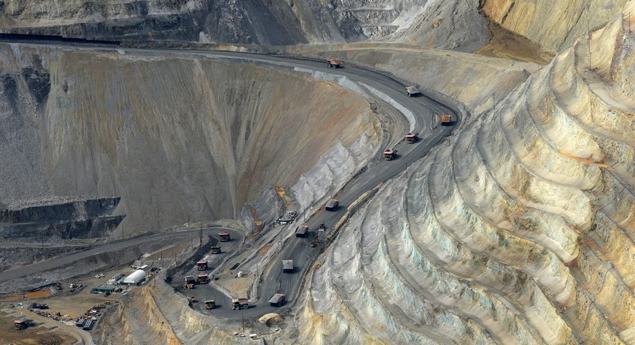 Kennecott Kupfermine